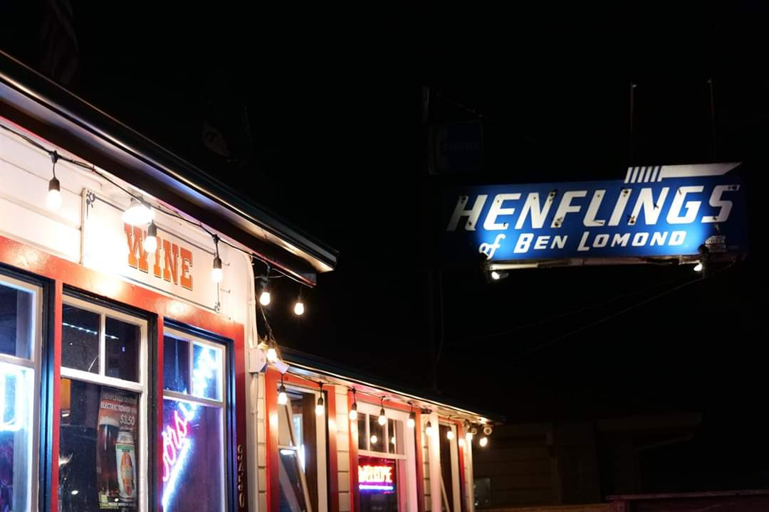 Henflings Bar in Ben Lomond