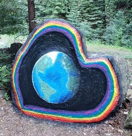 Highway 9 Art Heart