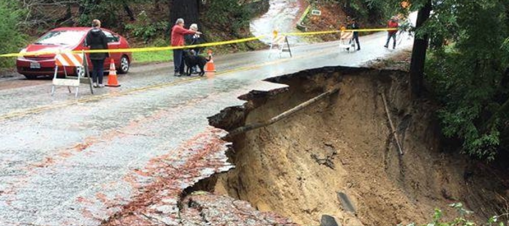 Santa Cruz Mountains road condition update