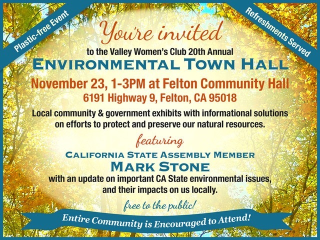 Environmental Town Hall in Felton