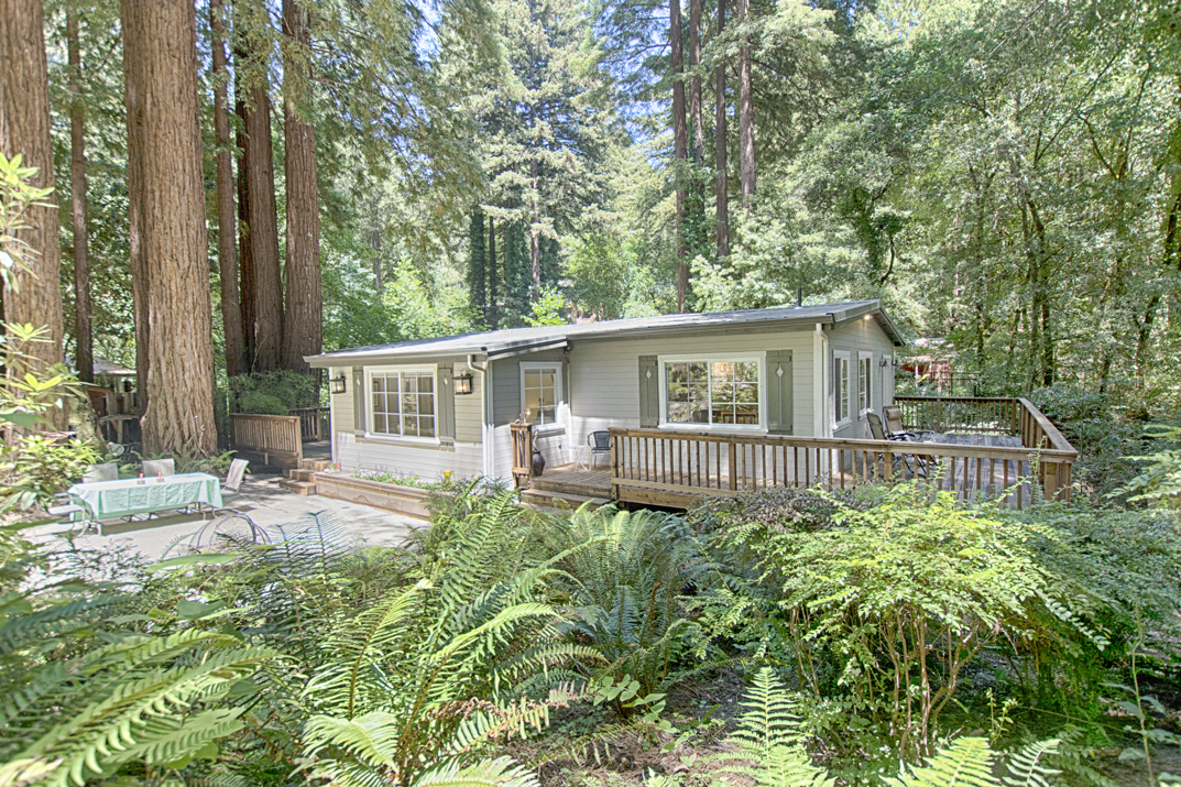 San Lorenzo Valley homes and real estate