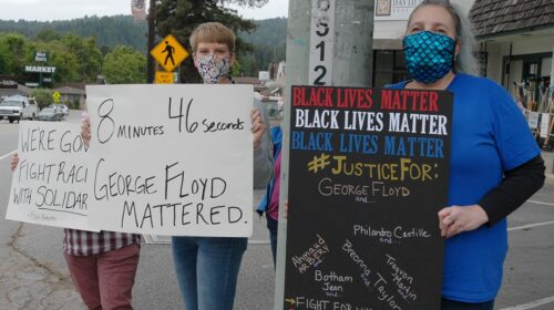 Black Lives Matter Protests Felton San Lorenzo Valley