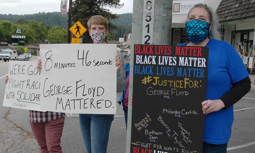 Black Lives Matter Protests Felton San Lorenzo Valley