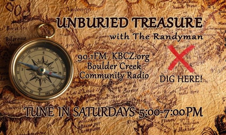 Unburied Treasure with the Randyman at KBCZ