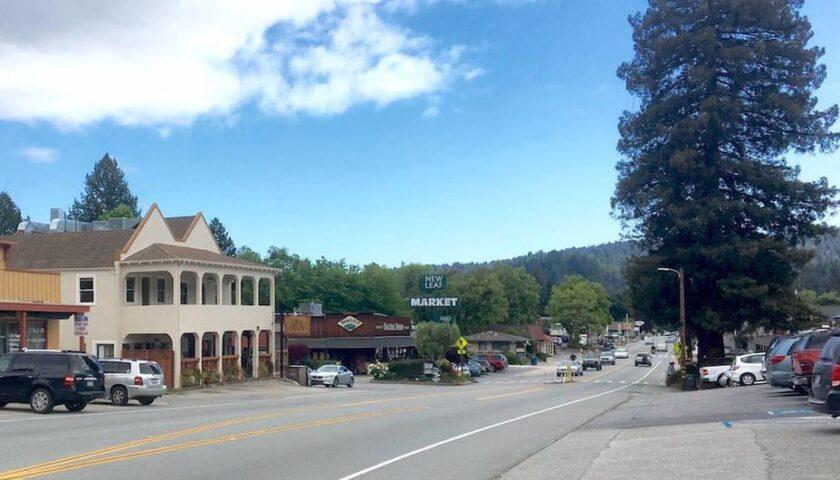 historic downtown Felton California
