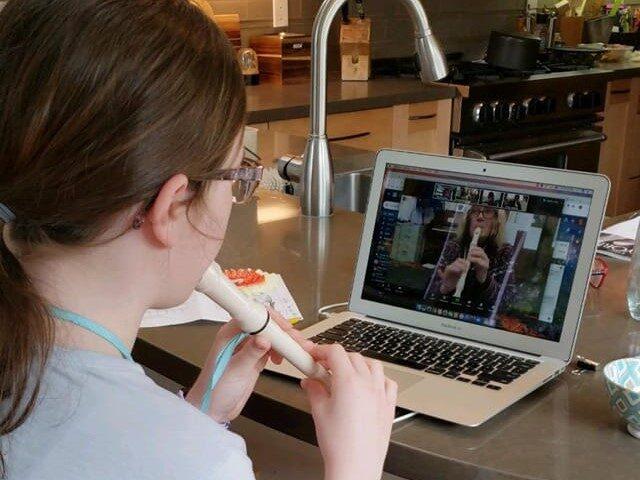 Meg Mulcaster virtual learning