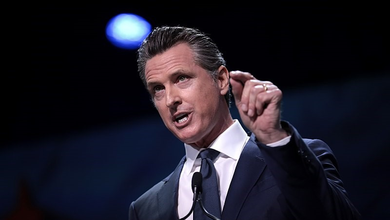 Governor Gavin Newsom Stay at Home order