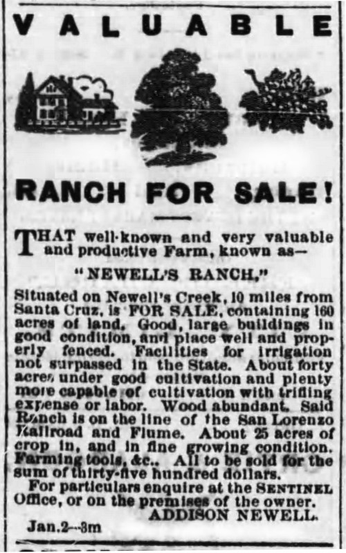 Newell Creek Road Ranch