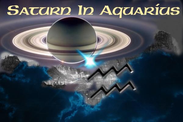 January 2021 Astrology Saturn in Aquarius