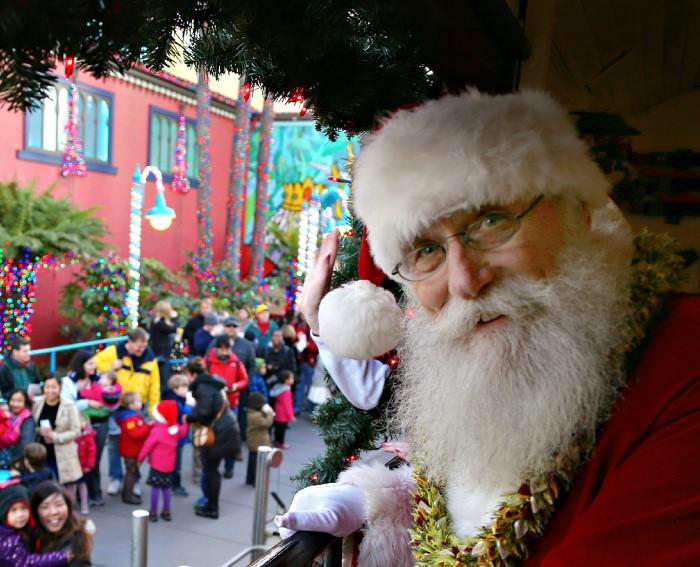 Vince Tuzzi Santa Hangs up his Hat