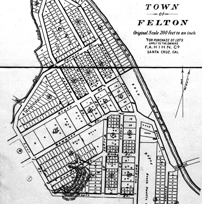 Town of Felton Turn of the Century