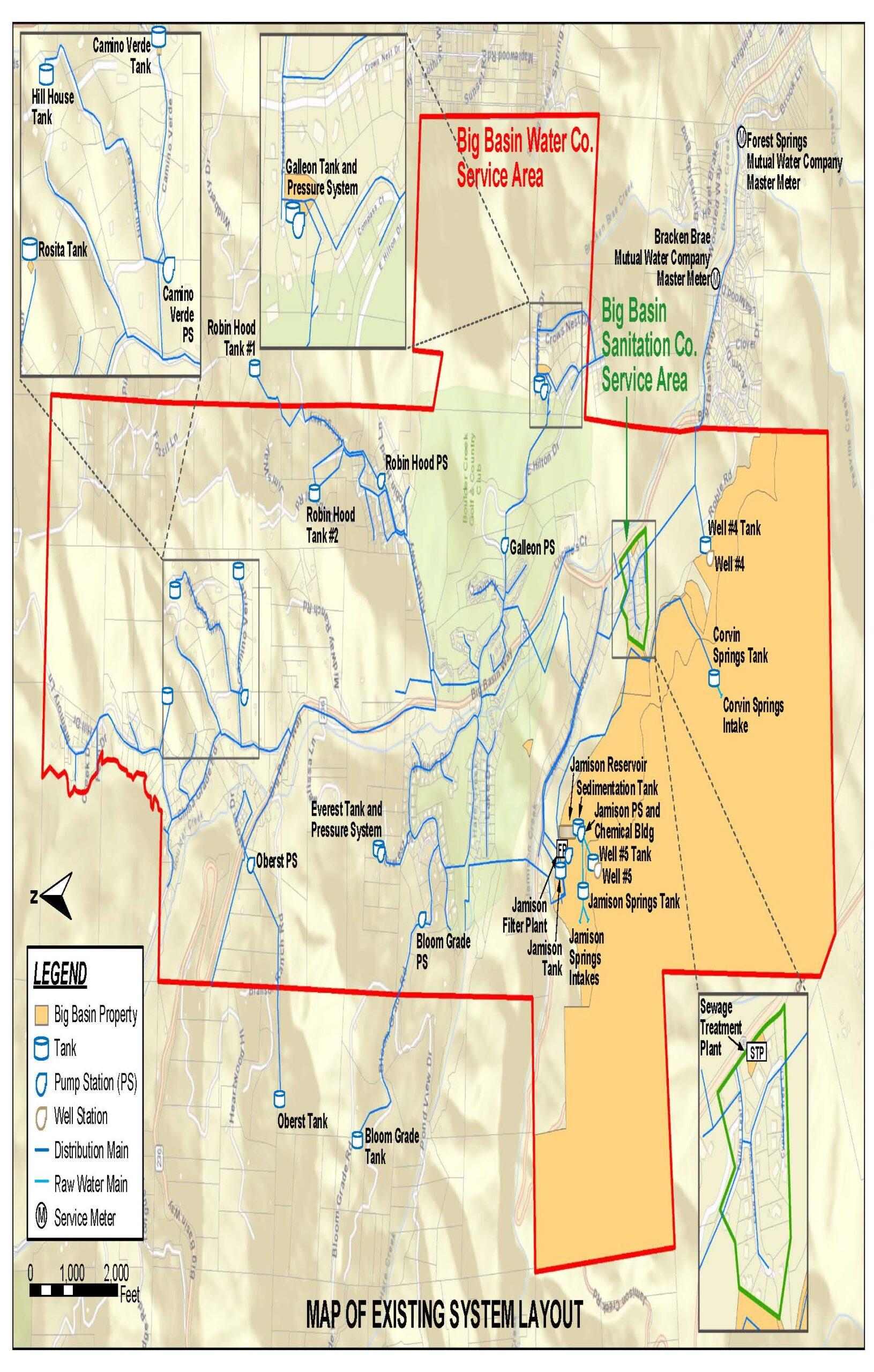 Big Basin Water Company District Boulder Creek