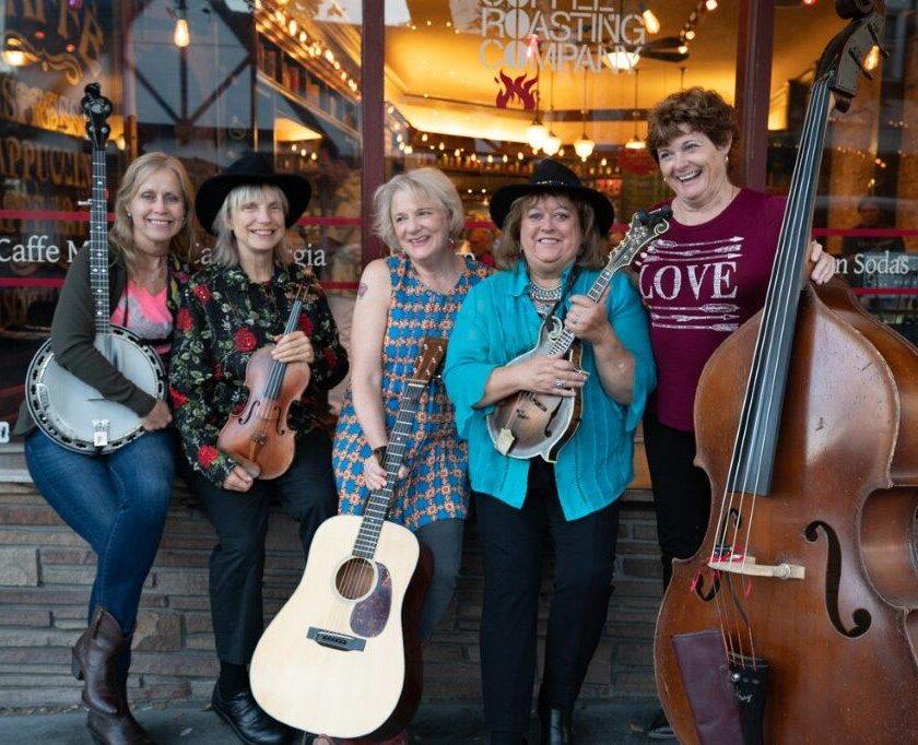 The Goat Hill Girls Bluegrass Band