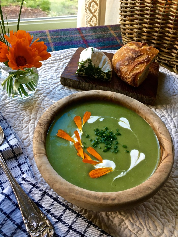 Nettles Song Soup by Alison Steele