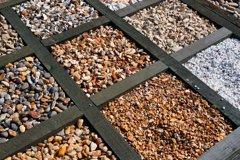 gravel varieties for garden path