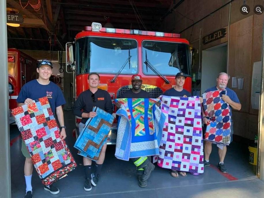 Ben Lomond Fire Department czu quilts