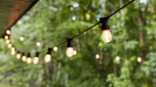 Patio lights