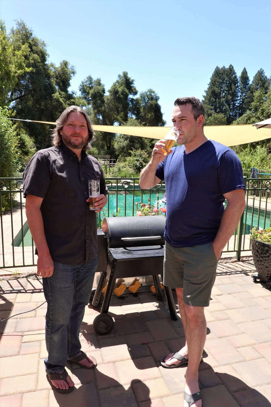 Mountain Fermenters Greg Roe and Mike de Smidt