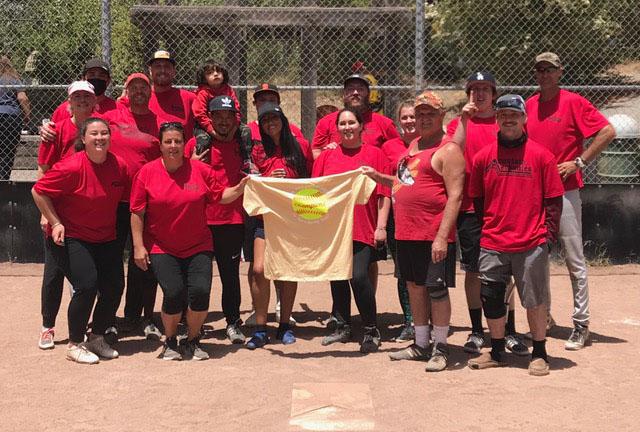 Mountain Mechanics Softball Team San Lorenzo Valley