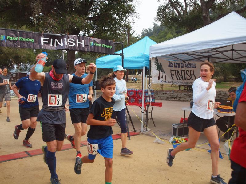 Race Thru the Redwoods Felton California