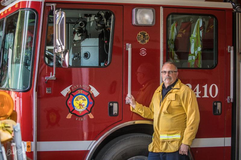 Zayante Fire Chief Dan Walters