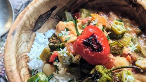 Autumn Okra Stew