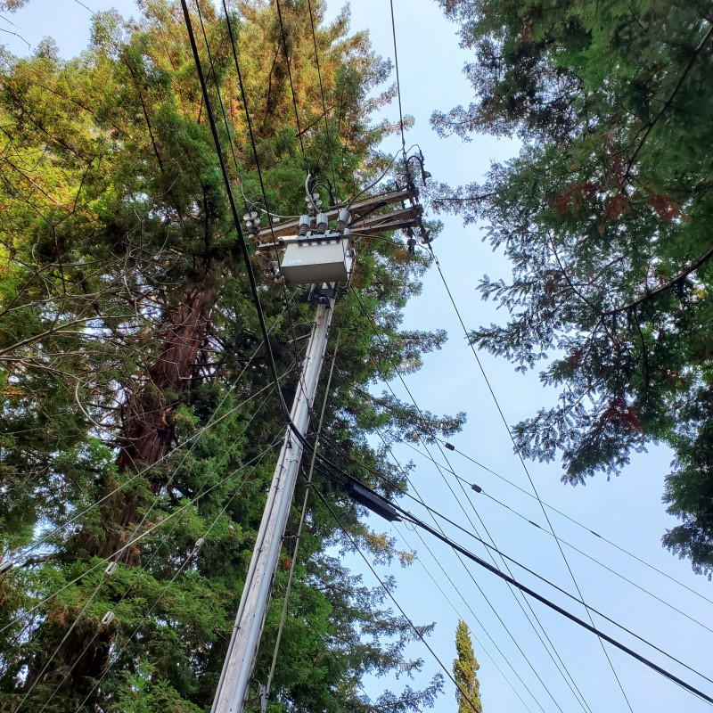 San Lorenzo Valley power ouatages