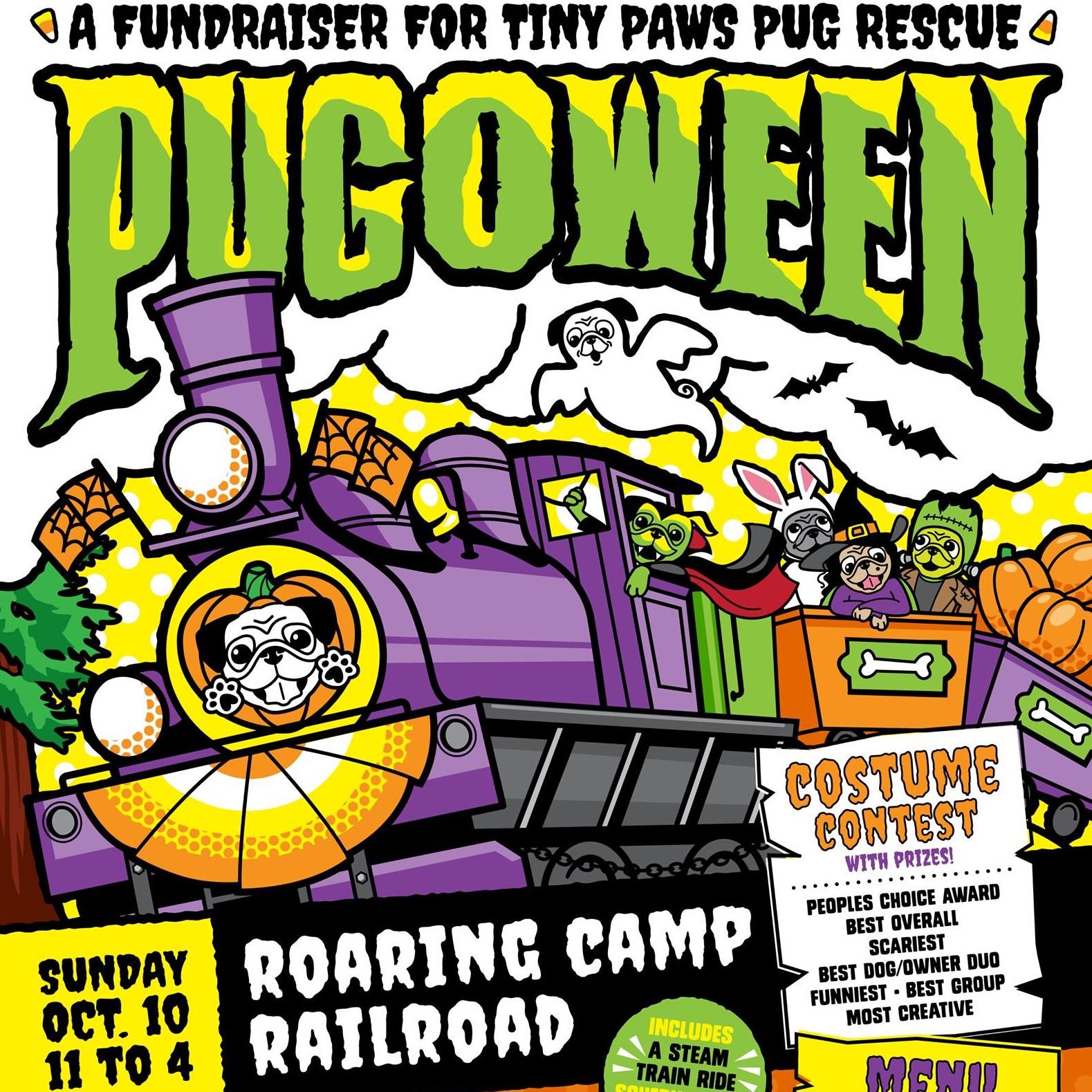 Pug O Ween Dog Costume Halloween event